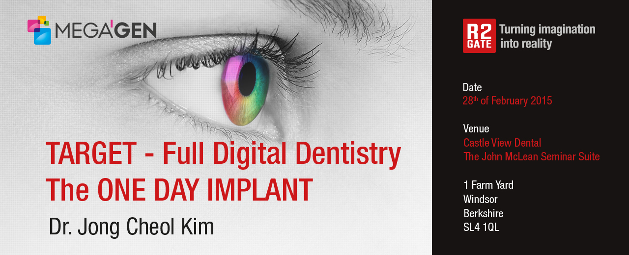 Target – Full Digital Dentistry  The One Day Implant | Megagen